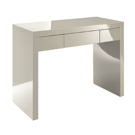 Puro Double Dressing Table Desk - Stone